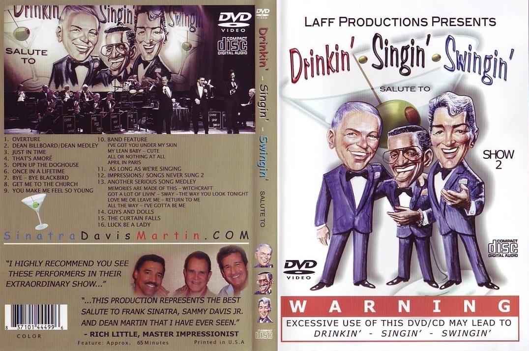 Drinkin'-Singin'-Swingin' DVD/CD Box Set