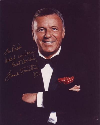 Frank Sinatra Autograph